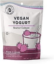 Cultures For Health Vegan Yogurt Starter   Make 4 delicious batches of nutrient-dense vegan yogurt   Non GMO, Gluten Free   4 Sachets In A Box