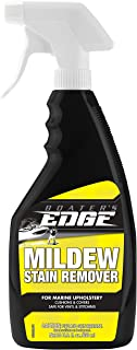 Boater's EDGE Mildew Stain Remover – For Marine Upholstery, Fiberglass and More - 22 OZ Spray