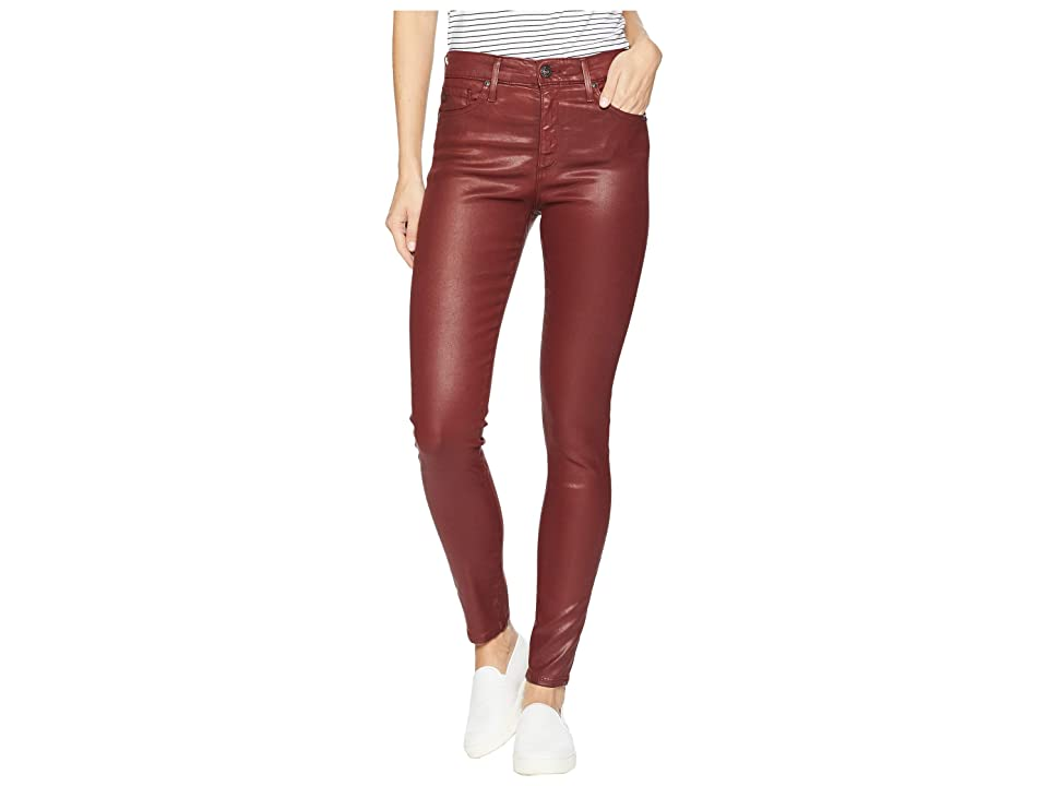 Image of AG Adriano Goldschmied Farrah Skinny Ankle in Vintage Leatherette Light Tannic (Vintage Leatherette Light Tannic) Women's Jeans