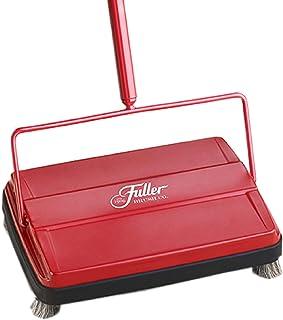 "Fuller Brush Electrostatic Carpet & Floor Sweeper – 9"" Cleaning Path – Red"
