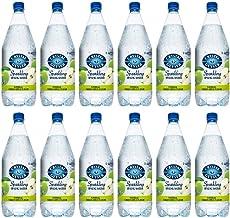 Crystal Geyser Green Apple Sparkling Spring Water PET Plastic Bottles, BPA Free, No Artificial Ingredients or Sweeteners, ...