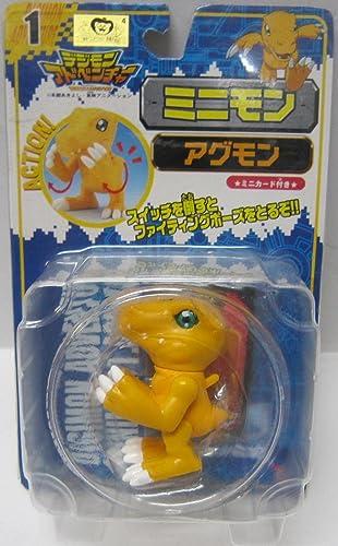 Digimon Adventure Agumon Minimon 1 Mini-Karte mit (Japan-Import)