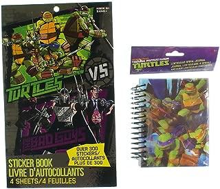 Teenage Mutant Ninja Turtles Sticker Book - 300 Stickers Turtles vs The Bad Guys