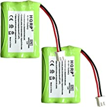 HQRP 2-Pack Battery Works with Tri-tronics 1038100 1107000 CM-TR103 1038100-D 1038100-E 1038100-F 1038100-G Replacement Remote Controlled Dog Training Collar Receiver