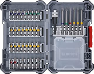 Bosch Professional bitssats i 40 delar (Pick and Click, extra hårda skruvdragarbits, med universalhållare)