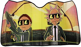 Rick and Morty Run the Jewels Accordion Auto Sunshade | Rick and Morty Accessories
