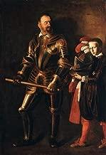 caravaggio portrait of alof de wignacourt