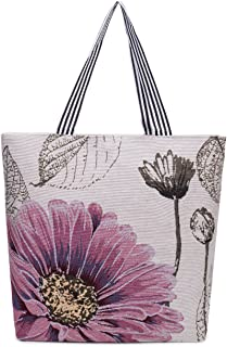 e4fad7ea1 LINJUN Women's Canvas Shoulder Hand Bag Tote Bag(There are different sizes  and patterns to