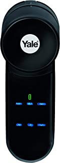 Yale Smart Lock, Black, 2.1 x 2.2 x 5.9 inches, Y2000FPL/35+35Nm