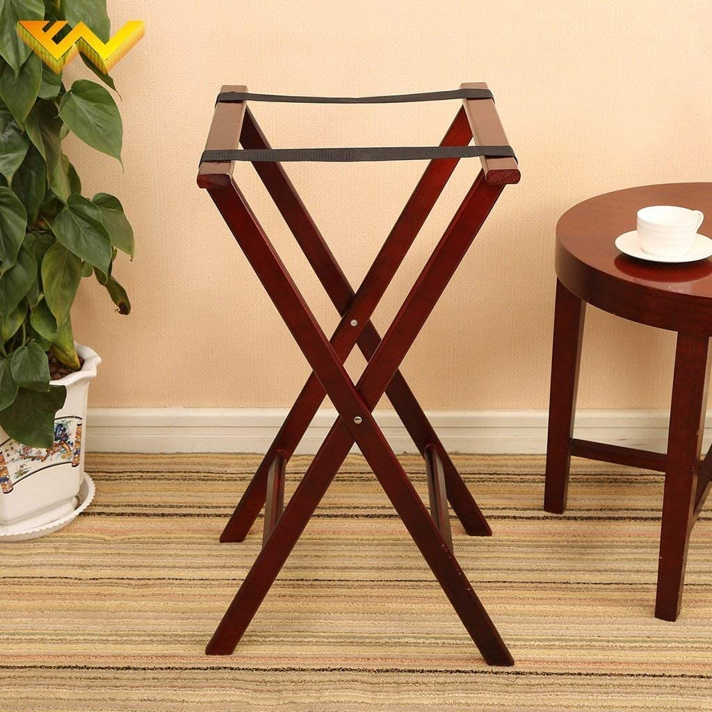 ZKS-KS Super sale period limited Branded goods Luggage Rack ,Hotel Room Solid Wo Foldable