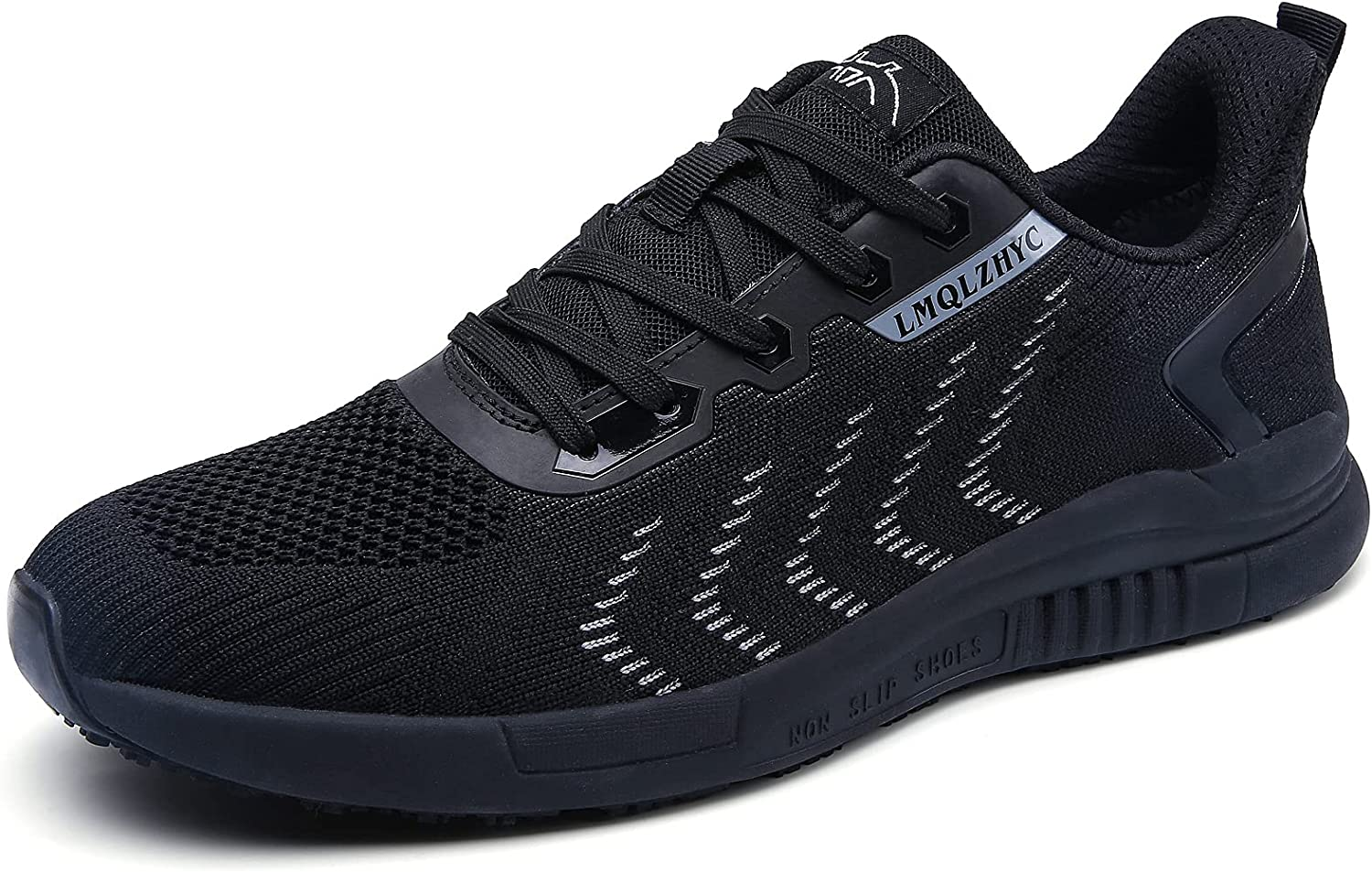 LMQLZHYC Men's and Women's Food Service Work Shoes Non Slip Waterproof Breathable Mesh Upper, Suitable for Chefs, Nurses, Health Care Workers, Lightweight and Comfortable Work Shoes