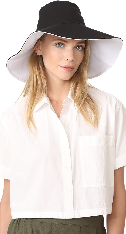 Hat Attack Women's Canvas Reversible Sunhat