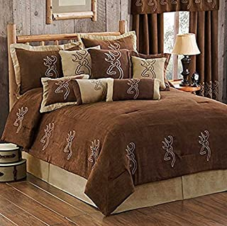 Browning Buckmark Suede Comforter Set - King Size