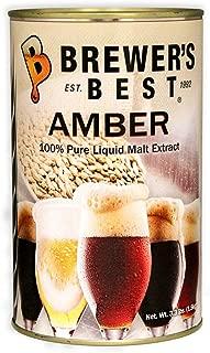 Brewer's Best Liquid Malt Extract - Amber- 3.3 lbs.