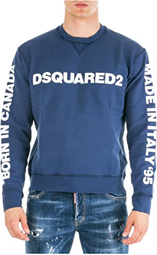Dsquarouge2 Sweat Homme bleu
