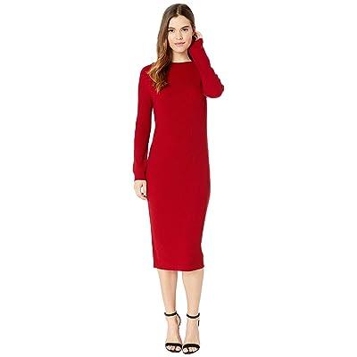AG Adriano Goldschmied Quaid Raglan Dress (Red Amaryllis) Women