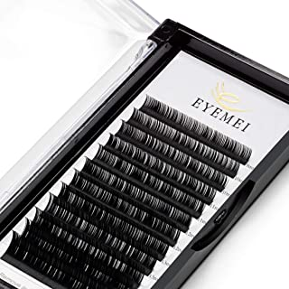 Eyelash Extensions 0.15mm D Curl 9-15mm Mixed Tray Faux Mink Individual Eyelashes Professional Light Lash Extension Perfect Supplies for Salon by EYEMEI (0.15-D-MIXED)