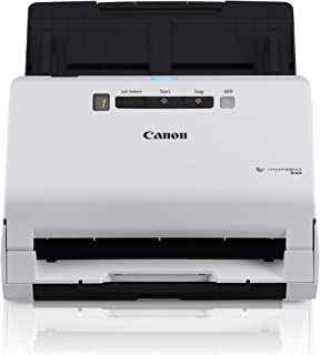 Canon imageFORMULA R40 Office Document Scanner For PC and Mac, Color Duplex Scanning, Easy Setup For Office Or Home Use, Includes Scanning Software (Renewed)