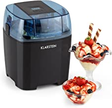 Klarstein Creamberry Machine à glace 4 en 1 (pour glaces, frozen yoghurts, milkshakes ou stockage de boissons fraiches, ba...