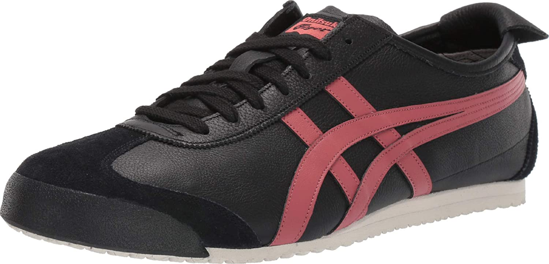 Ventana mundial Propuesta alternativa Conciencia  Amazon.com: Onitsuka Tiger Mexico 66 Black/Burnt Red Men's 4, Women's 5.5:  Shoes