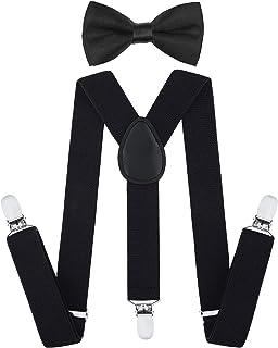 SALE~Boys Madras Plaid Suspenders~Blue~Green~Orange~Boy Suspenders~Wedding Suspenders~Wedding~Boys Bow Tie~Boys Suspender Set~Infant