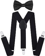 کودکان و نوجوانان تعطیلات Bowtie مجموعه - تنظیم سینه بند قابل تنظیم برای پسران و دختران