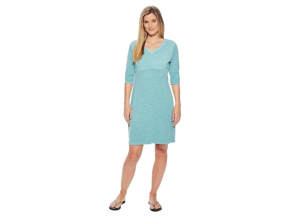 Woolrich First Forks Convertible Sleeve Dress (Aqua Sky) Women