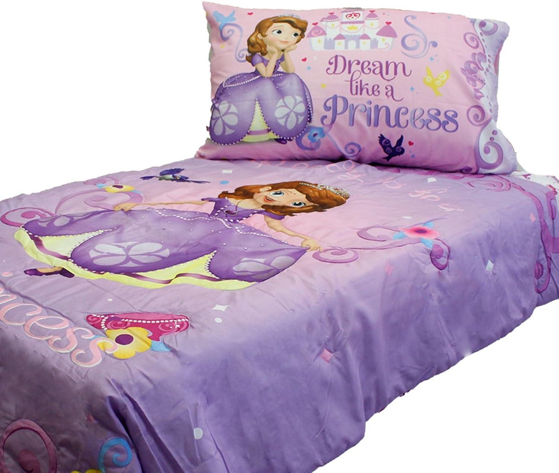 Sofia First Princess Scrolls 4 Piece Toddler Bedding Set