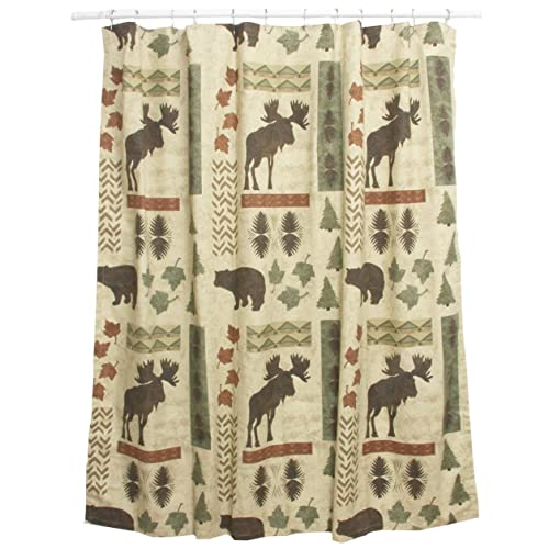 Bacova Guild Big Country Shower Accessories Curtain