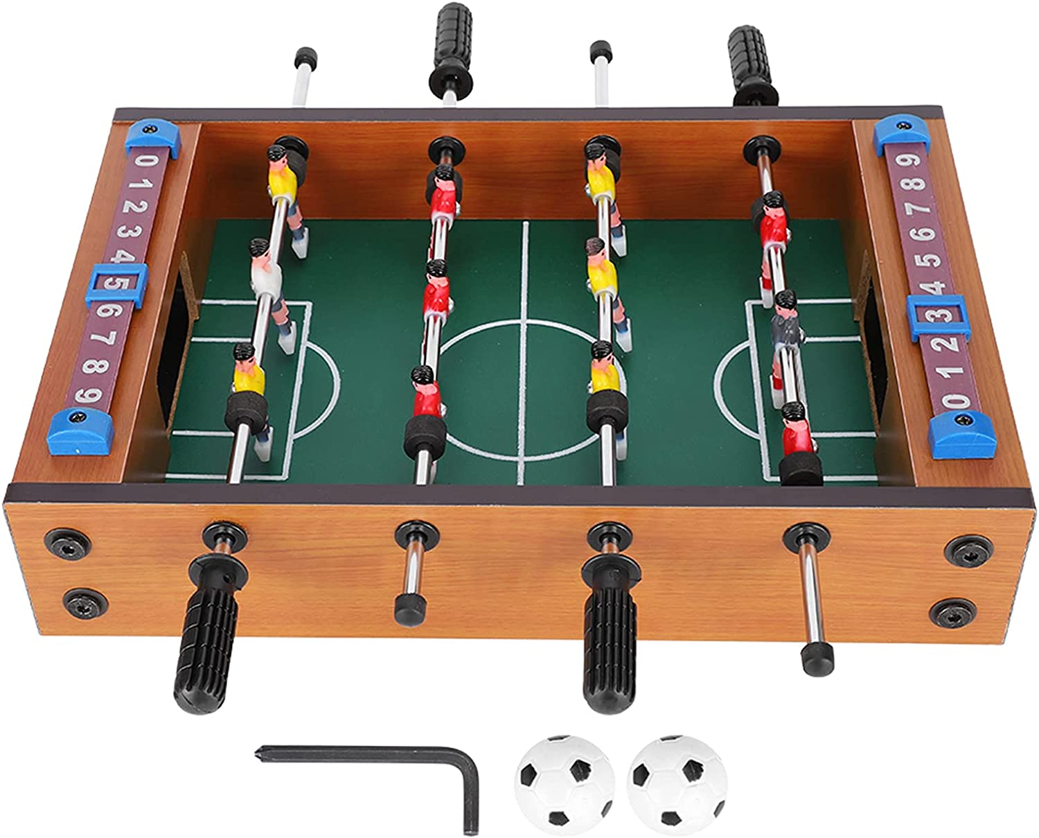 Max 82% OFF Table Football Tabletop Soccer Safe Smooth Scoreboa Kids Frame Max 43% OFF