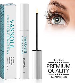 VASSOUL Eyelash Growth Serum- Eyelash Enhancer Lash Eyebrow Growth Serum for Longer and Thicker Eyelash