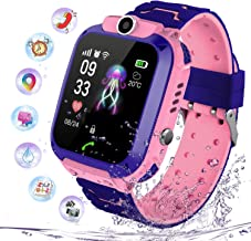 Niños Smartwatch Impermeable, Reloj Inteligente Phone con