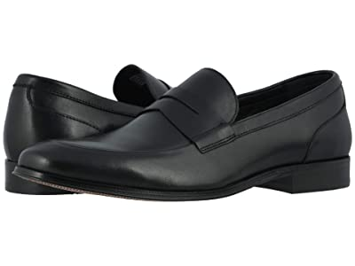 Florsheim Jetson Moc Toe Penny Loafer (Black Smooth) Men