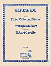 Serenade (from Three Water Colors) - Flute, Cello and Piano - Philippe Gaubert - SongBook