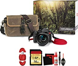 Leica V-LUX (Typ 114) Digital Camera Explorer Kit with Memory Card and Cleaning Kit Bundle
