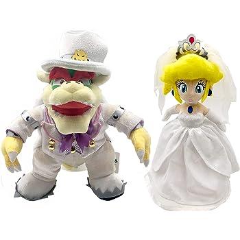 Amazon Com Super Mario Odyssey Princess Peach King Bowser Boss