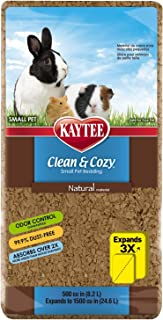 Kaytee Clean & Cozy Super Absorbent Paper Bedding, 24.6 Litre, Natural