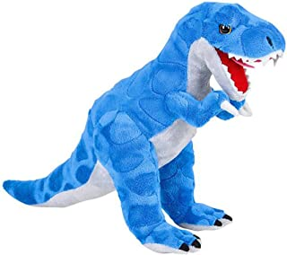 Wildlife Tree 16 Inch Blue T Rex Dinosaur Stuffed Animal Floppy Plush Species Collection Dino