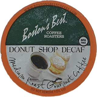 Boston's Best Single Serve K-Cup Coffee, Donut Shop Decaf, 80 Count