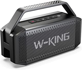 60W(80W Peak) Bluetooth Speaker, W-KING Speakers...
