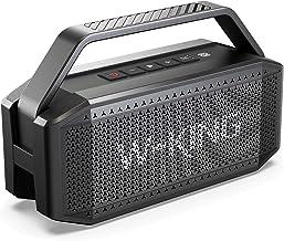 بلندگوی بلوتوث 60W (80W Peak) ، بلندگوهای W-KING بی سیم بلوتوث با 40H Playtime ، باتری 12000mAh پاور بانک ، TWS ، NFC ، میکروفون ، بلندگوی بیرونی ضد آب IPX6 ، صدای بیس با صدای بلند ، صدای شفاف صدا