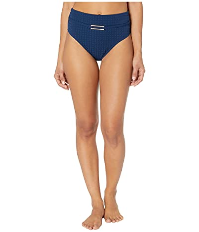 La Blanca Get To The Point Belted High-Waisted Hipster Bottoms (Indigo) Women