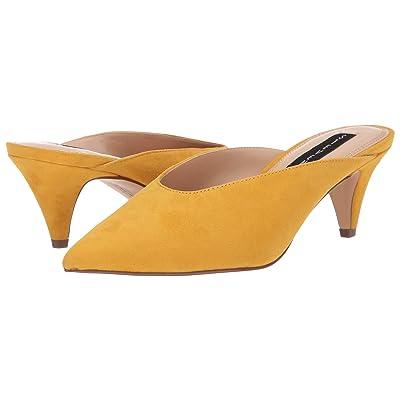 Steven Elora Mule (Yellow Suede) Women