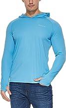 BALEAF Men's UPF 50+ Sun Protection Athletic Hoodie Long Sleeve Workout SPF/UV Outdoor Thumbholes Shirt