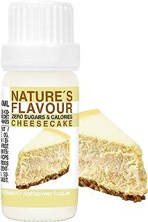 comprar comparacion ALPHAPOWER FOOD Aroma alimentario - alimenticio, concentrado 1400%*, 1x10ml saborizante de alimentos Tarta de queso, vegan...