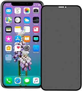 iPhone 11 Pro Screen Protector,HD Clear 9H Hardness Scratch Resistant Privacy Tempered Glass Protective Film for iPhone 11...