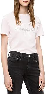 Calvin Klein womens Short Sleeve T-Shirt Monogram Logo