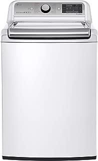 LG White 5.2-cubic-foot Mega Capacity Top-load Washer with Turbowash Technology, Model WT7600HWA