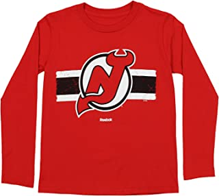 Outerstuff NHL Youth Boys (8-20) New Jersey Devils Honor Code Long Sleeve Tee