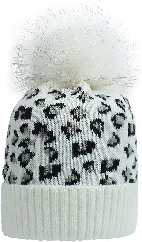 ChenYu Womens' Tie Dye Beanie Hat Winter Soft Warm Hats Unisex Cuffed Knit Skull Cap for Women Men